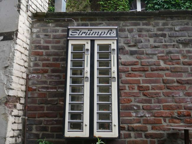 Architecture Automat Brick Wall Building Built Structure Close-up Closed Day Exterior No People Outdoors