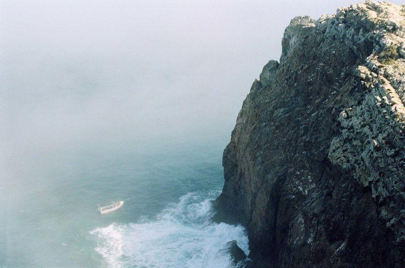 Scenic View Of Shore In Portugal