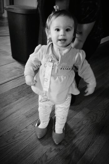 Little Nugget Mommys Shoes Hello World Enjoying Life Too Cute!