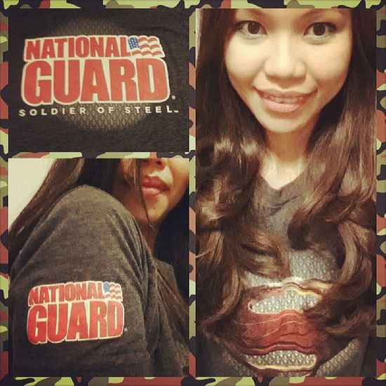 Superman Manofsteel Nationalguard ...I'm thinking of enrolling to the next batch of their bootcamp; )