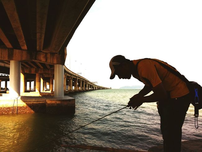 Keto ketos Fishing under Penang Bridge