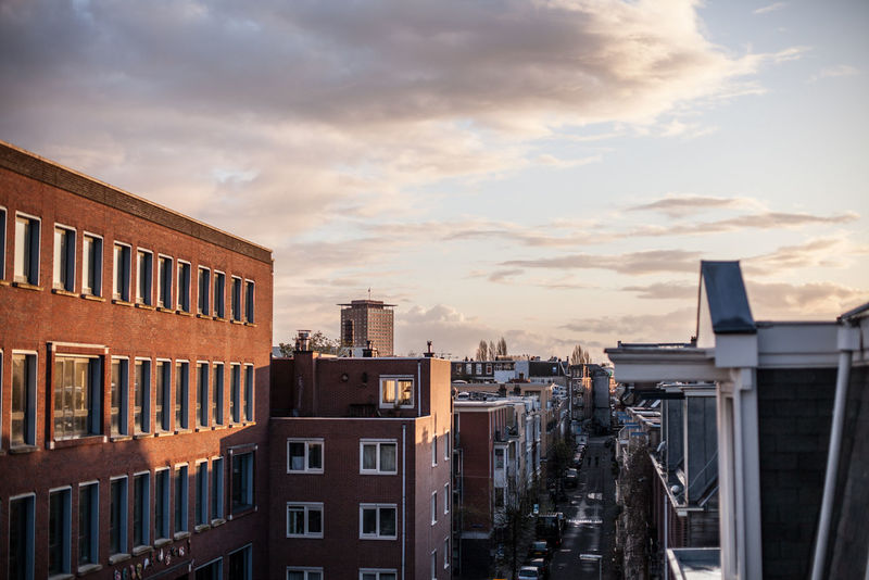 after the rain in De Pijp, Amsterdam Amsterdam Skyline Amsterdamcity Architecture Cloud Cloud - Sky Cloudscape De Pijp Residential District Sunset Sunset #sun #clouds #skylovers #sky #nature #beautifulinnature #naturalbeauty #photography #landscape Sunset And Clouds