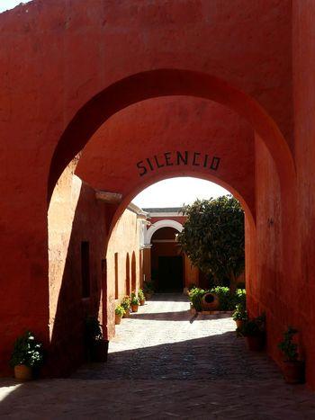 Arch Architecture No People Indoors  Day Travel Destinations Peru Perù 🇵🇪 EyeEmNewHere Monastery Arequipa - Peru Arequipa