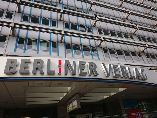 Berlin, Germany - March 21, 2018: Berliner Verlag, publishing house providing newspapers and magazines. Since 2017 it changes into DuMont Berliner Verlag Berliner Office Opinion Press Publishing Company Reading The Media Architecture Berliner Verlag Building Exterior Communication Culture Day Education Germany Mass Media Media No People Outdoors Publisher Publishing Publishing House Text Verlag