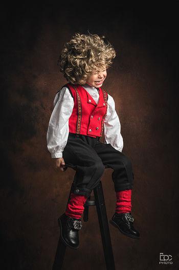17mai Norge Nationaldag Gratulerermeddagennorge Norges_fotografer Eidsvoll Jessheim Norway Bunad Boy Gutt Studio Nationalcostume  Skog Photo Photography Photooftheday Norway🇳🇴 Shoot Curlyhair Lillestrøm Dpcphoto2015 Child Full Length Childhood Standing Portrait Studio Shot Shoe Sock