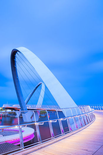 Built Structure Architecture No People Modern Building Exterior Outdoors Cloud - Sky City Long Exposure Motion Movement Flow  Perth Australia Travel Destinations Travel Urban Sky Blue Day Bridge