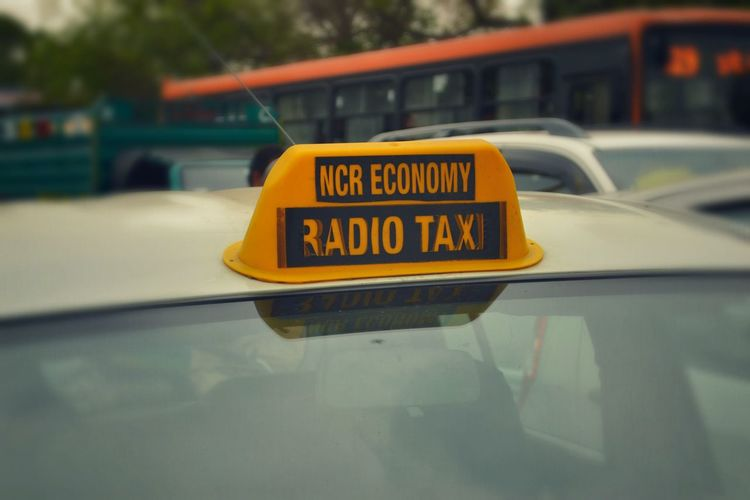 Radio Taxi Taxi Yellow Traffic Car Journey Streetphotography Traveling Travel