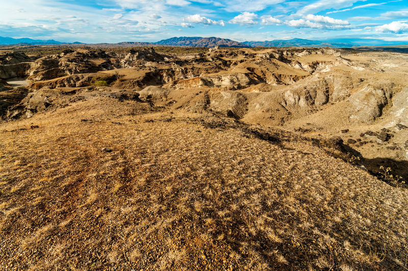 Dry desolate view of a remote isolated desert Arid Beautiful Clouds Colombia Desert Desolate Drought Dry Environment Heat Hot Huila  Landscape Nature Nature Outdoors Scenery Scenic Southernmost Stone Tatacoa Three Travel View Wilderness