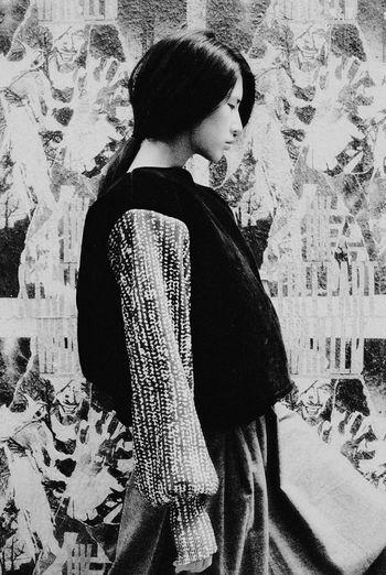 Open Edit Portrait Blackandwhite Monochrome Hon'ne Magazine