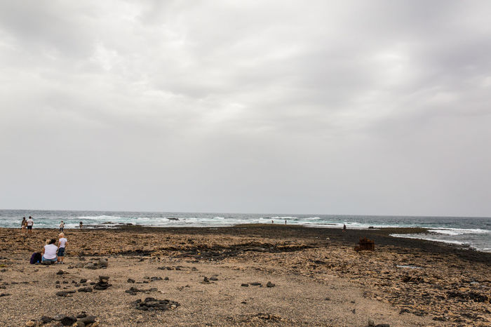 Canarias Colors Field Fuerteventura Winter Beach Blackandwhite Cloud - Sky Day España Faro Holiday Horizon Horizon Over Water Island Land Lava Nature One Person Outdoors Overcast Sand Scenics - Nature Sea Seascape Sky Storm Cloud Tost Trip Vacations Water
