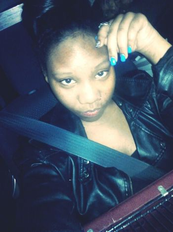 currently inna car w/ my family omw home!