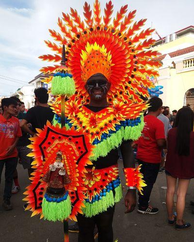 Ati-atihan festival Colorful Costumes Costume Parade Ati-atihan Festival 2018 Celebration Multi Colored Cultures Tradition Traditional Festival Arts Culture And Entertainment