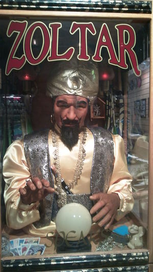 Carnival Palmistry Zoltar Business Chrystal Ball Communication Day Front View Genius One Person Outdoors People Reflection Retail  Store Text
