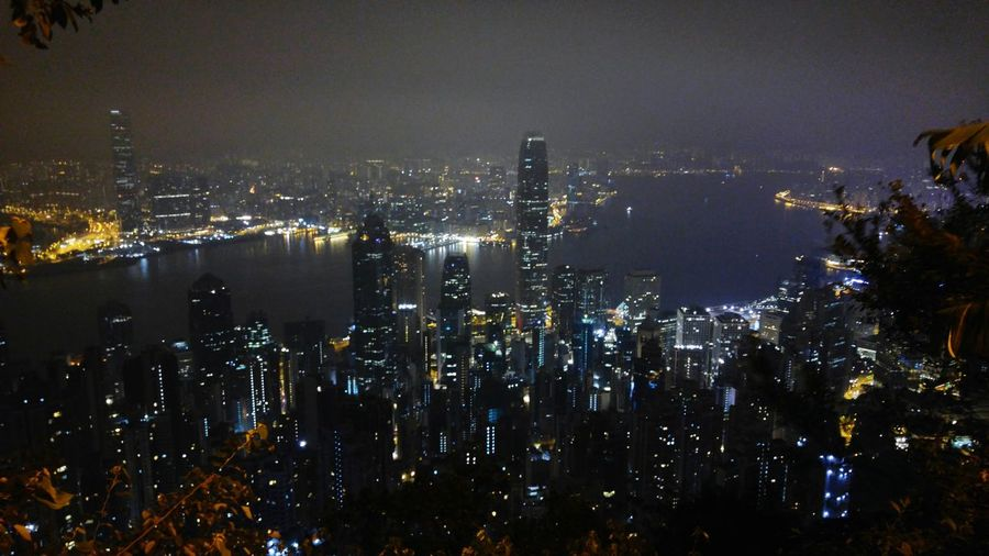 Night Cityscape Sky City Illuminated Outdoors No People Hong Kong Hong Kong Architecture Hong Kong City Hong Kong Night Scene At The Peak Lg G4 Photography LG G4 Eyeemphotography HongKong