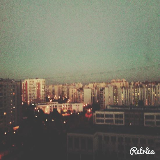 Город просыпается, зажигается в окнах свет, всех с добрым утром) Hi!