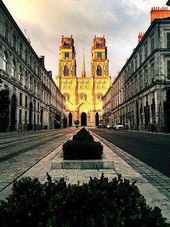Cathédrale d'Orleans, Golden hour. Taking Photos Open Edit EyeEm Masterclass Make Magic Happen Street Photography Architecture Streetphotography Eye4photography