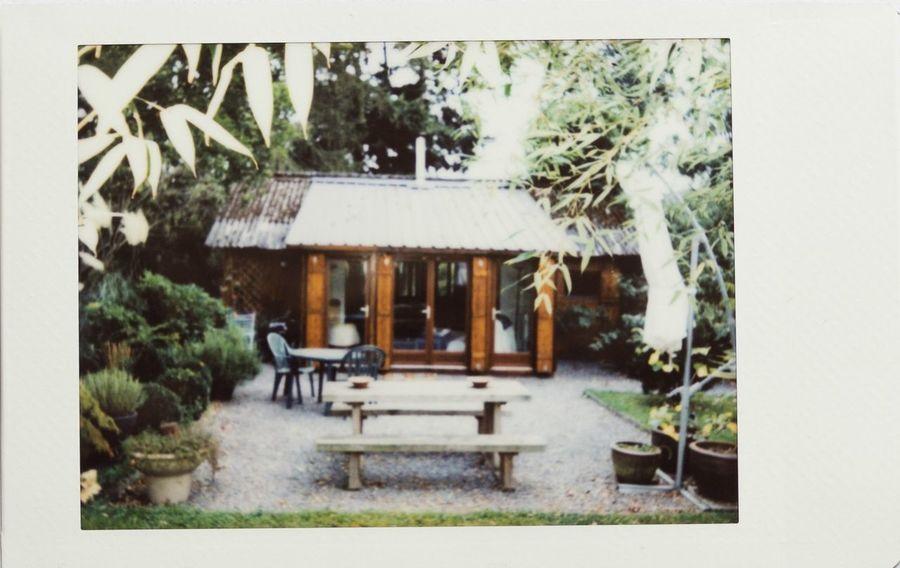 Instax Mini Polaroid Retro House