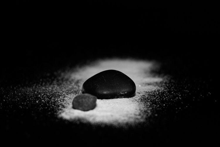 Black Background No People Close-up Indoors  White Sand Sands Of Time ⌛ Black Color Black & White Particle Studio Shot Black Background Rocks Rocks And Minerals Rocks And Sand