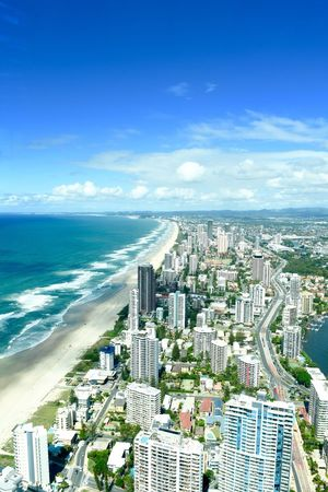 Aerial View Architecture Beach Beachphotography City Cityscape Cityscape Cityscape Photography High Angle View Horizon Over Water Scenics Sea Sky Skyscraper Surfers Paradise Surfers Paradise, Australia Travel Destination Travel Destinations Travel Photography Urban Skyline Water Wave