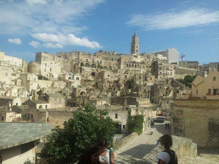 Paesaggio Che Conta Matera Citta Cityscape