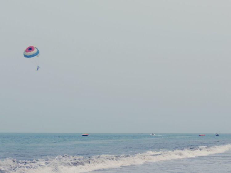 That's Me! INDONESIA Indonesia_allshots EyeEm Indonesia Indonesia_photography Anyer  Anyerbeach Pantai Anyer Anyer Beach Anyer <3 Parasailing Parasail
