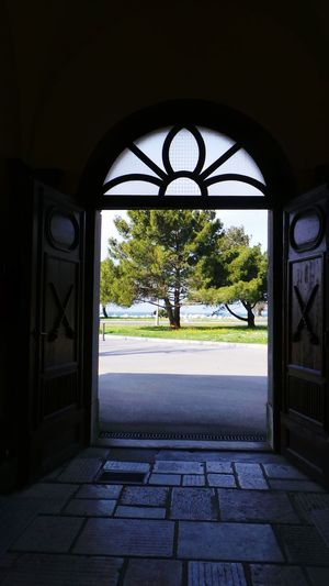 Door To The Sea Door Tree Seaside Door To The Freedom Sunny Day Bright Future Enjoying Life Check This Out Open Door Open