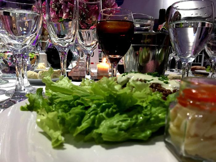 Food And Drink Freshness Wineglass Drinking Glass Indoors  Table Food Plate Close-up Healthy Eating Green Color Wine No People Ready-to-eat Day