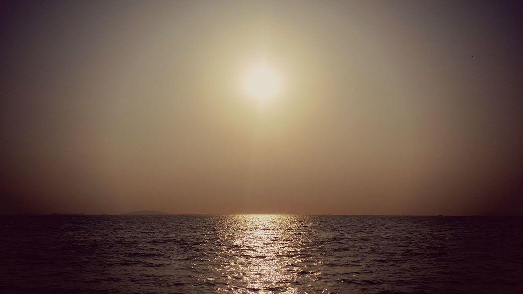 Sunrise Nature_collection Relaxing 4월 April Sea Landscape +korea ansan city jebudo