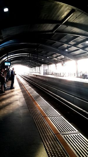 Sometime Waiting For A Train Waiting Alone...
