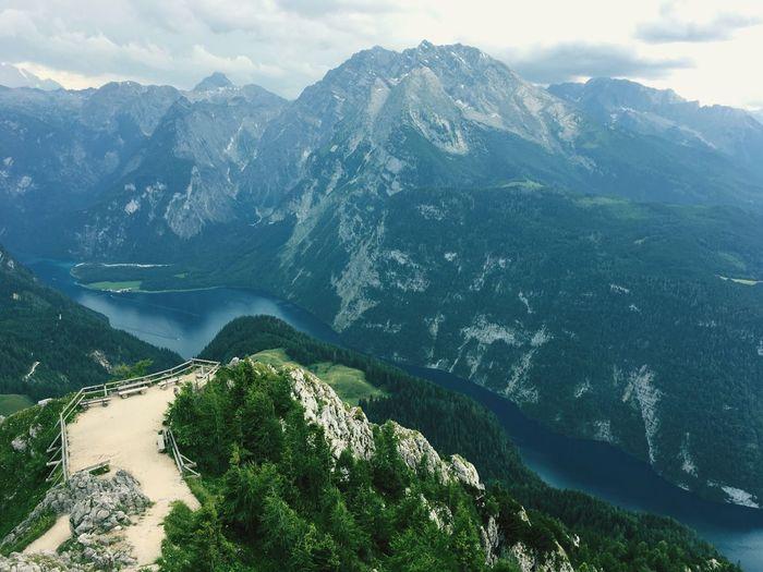 Jenner Aussichtsplattform, Germany Jenner Königssee Mt Jenner Germany 🇩🇪 Deutschland Mountain Landscape See