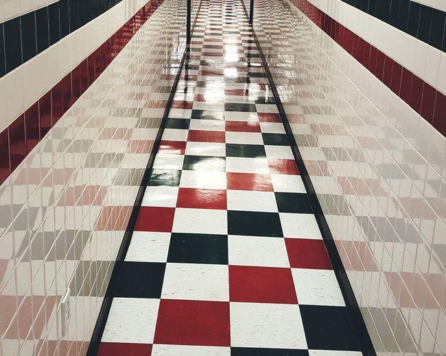 Architecture Tiled Floor Indoors  Built Structure Illuminated Minimalist Architecture