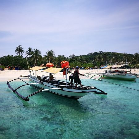 Calaguas Calaguas Island Nature Beach Summer Philippines