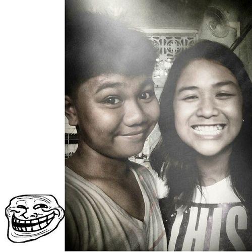 With MISS ILAGAN :) Happy BADTRIPNOMORE