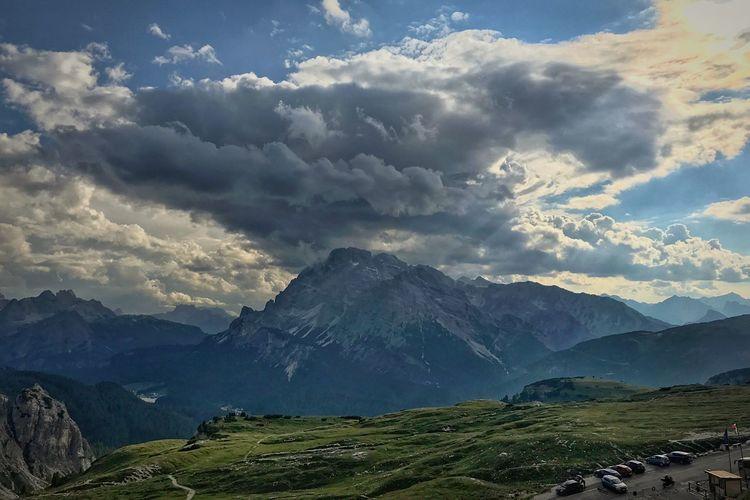 Alps peaks in