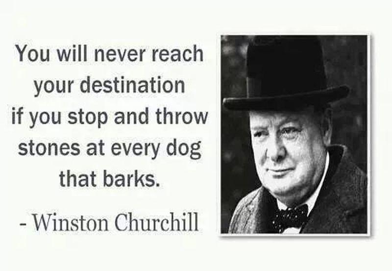 Winston Churchil Quote ♥