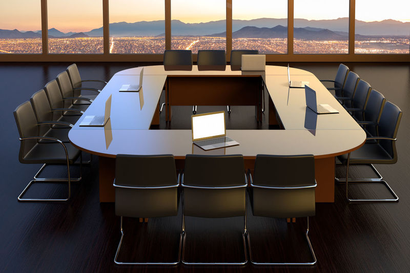 an empty boardroom at an office building Chair Seat No People Table Absence Empty Window Indoors  Business Arrangement Architecture Modern BoardRoom Meeting Workplace Corporate Corporation Office Building Interior Working Armchair Business Laptop
