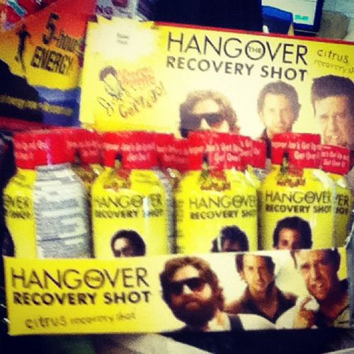 lol what I found at the store ! my dad should've got this xD Thehangover