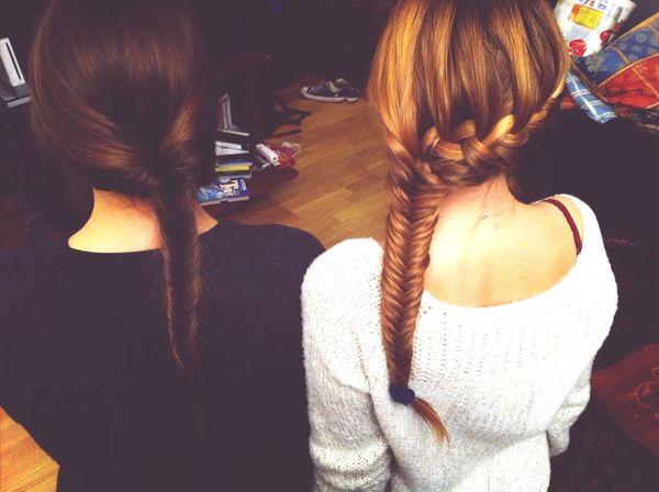 Friends Best Moments Braids Fish Tail Braid ♥♥♥♥♥♥♥