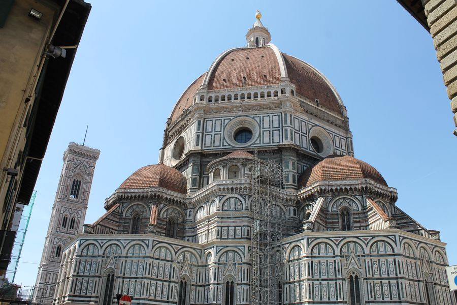 Architecture City Cultures Day Dome Florence Italy Frainf History No People Outdoors Place Of Worship Religion Sky Tourism Travel Travel Destinations