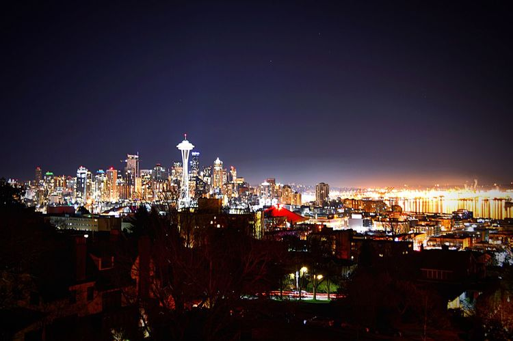 Seattle Nightphotography Cityscapes