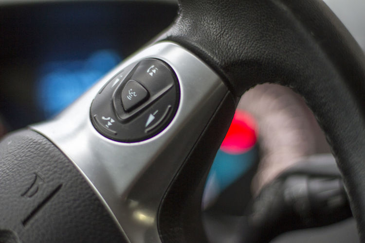 Buttons Car Interior Close-up Healthcare And Medicine Indoors  No People Speak System