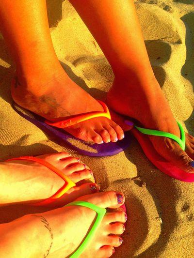 Barefoot Summer Beach