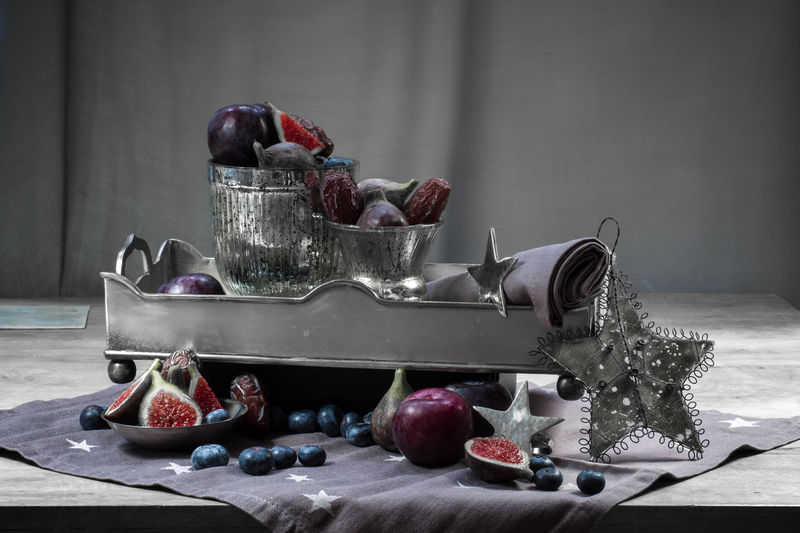 Autumn Berries Berries Collection HongKong Milk Tea Nature Photography No People Plate Still Life Table Vegetables