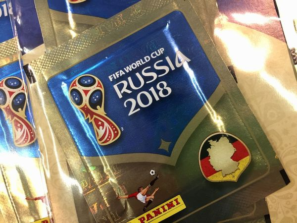 Panini - FIFA World Cup Russia 2018 Sticker Collection FIFA World Cup Russia FIFA World Cup Of 2018 Fifa Russia 2018 Sticker Stickers Championship Close-up Fifa World Cup No People Panini Panini Stickers Sport World Cup