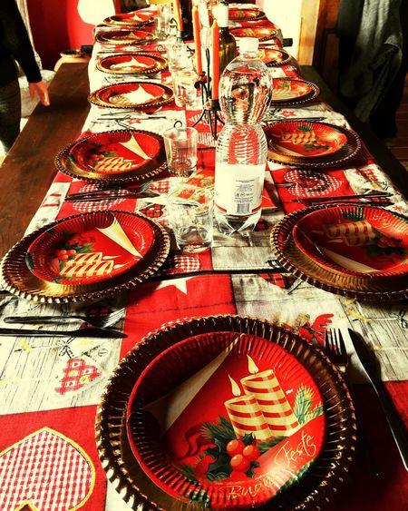 Tavolo Natale  Felicità Happy Love