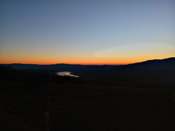Lake at sunset Sunset Nature Beauty In Nature Outdoors Dramatic Sky Landscape Scenics No People Night Astronomy Sky Star - Space Galaxy Lake Lake View Nightfall