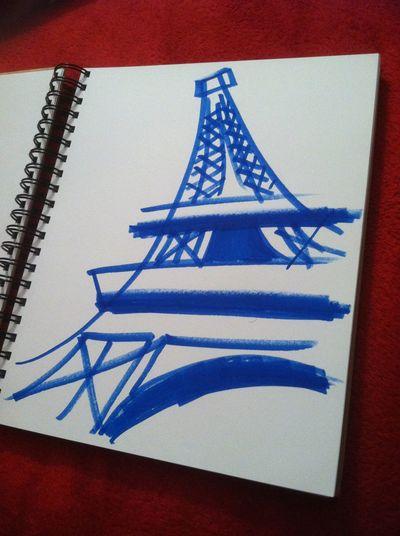 Art Art Sketch ArtWork Artworks Doodle Doodle Art Doodles Drawing Drawings Eiffel Eiffel Tower My Drawing My Drawings Paris Paris ❤ Paris, France  Quick Sketch Simple Art Simple Drawing Sketch Sketch Art Sketchbook Sketches Torre Eiffel Tour Eiffel