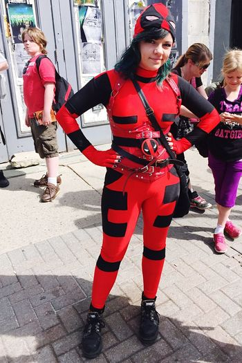 Free Comic Book Day Cosplay Cosplayer LondonOntario City Of London London Ontario Deadpool Lady DeadPool