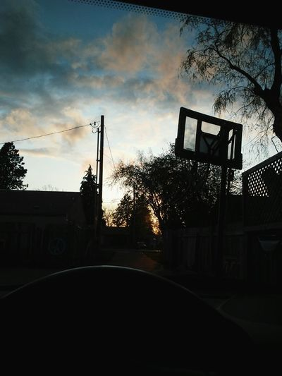 Spring ball Basketball - Sport Sport Day Outdoors Sky Cloud - Sky Sunset Activity Of The Day Dramatic Sky