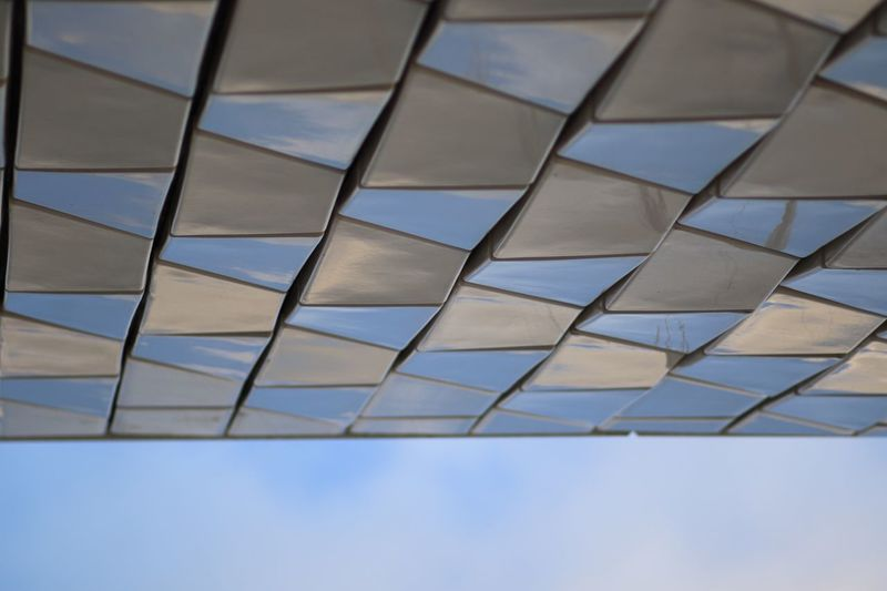 Pattern No People Full Frame Backgrounds Geometric Shape Sky Low Angle View